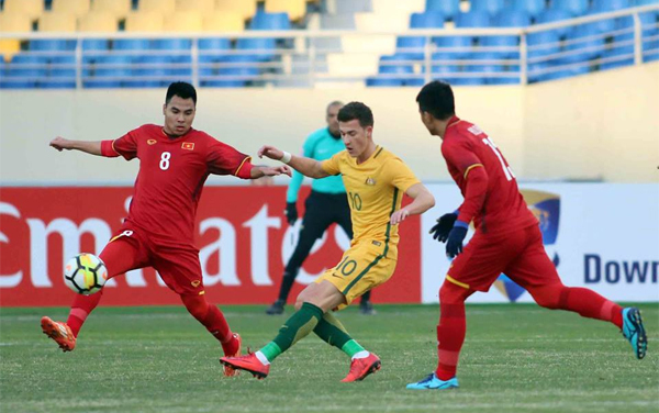 Vietnam makes history with victory over Australia in U-23 Asian Cup