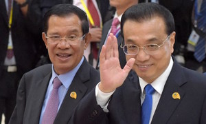 China lavishes cash on ally Cambodia with eyes on the Mekong