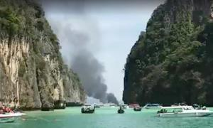 16 injured from tourist boat explosion in southern Thailand