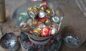 Melting pot: Hanoi smithies transform discarded cans into cookware