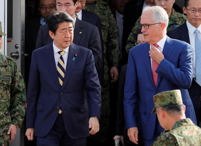 Australia, Japan committed to signing Asia Pacific trade pact by March, Turnbull says