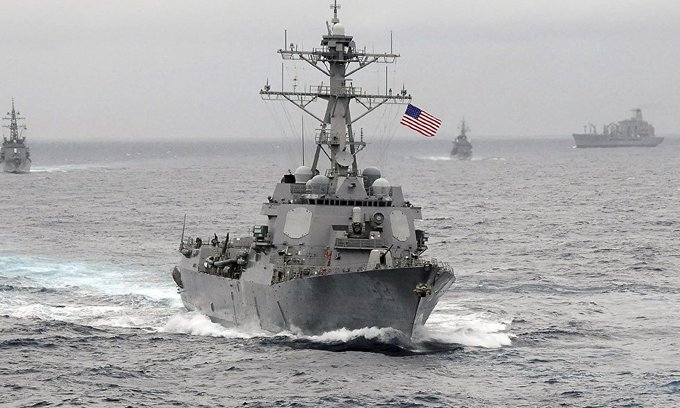 China accuses US warship of violating its sovereignty
