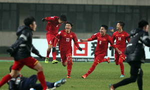 Vietnam's football continues miracle by reaching semifinals of U-23 Asian Cup