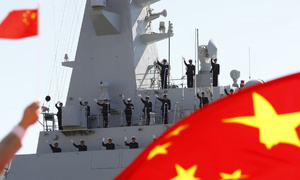 China's top paper says US forcing China to accelerate deployments in disputed waters