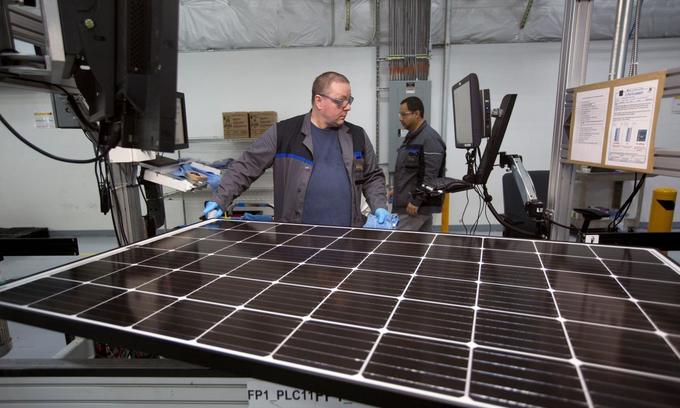 Trump slaps steep US tariffs on imported washers, solar panels
