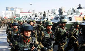 China's Xinjiang to build 'Great Wall' to protect border: governor