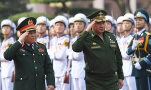 Russian defense chief visits Vietnam amid talk of missile deals in the region