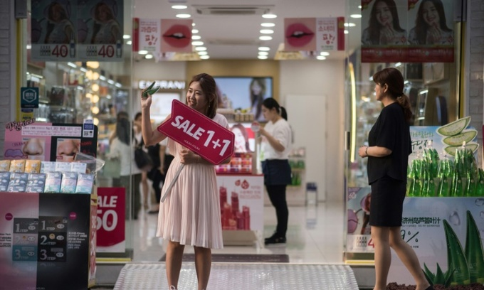 South Korean economy grows 3.1 pct in 2017