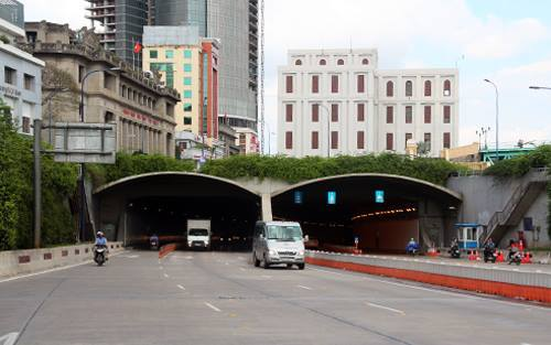 HCMC to close river tunnel for 6 nights to make way for construction work