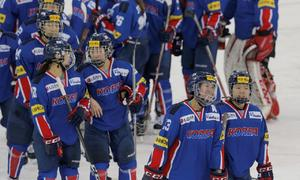 Korean hockey players arrive for joint Olympics practice as N.Korea calls for unity