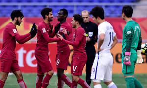 Qatar edges past South Korea to take third place playoff at U23 Asian Cup