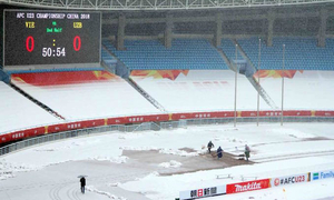 Heavy snow threatens to delay Vietnam vs Uzbekistan U23 Asian Cup final