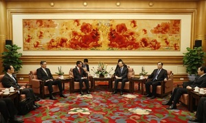 Japan, China talks end with friendship vows but no breakthrough
