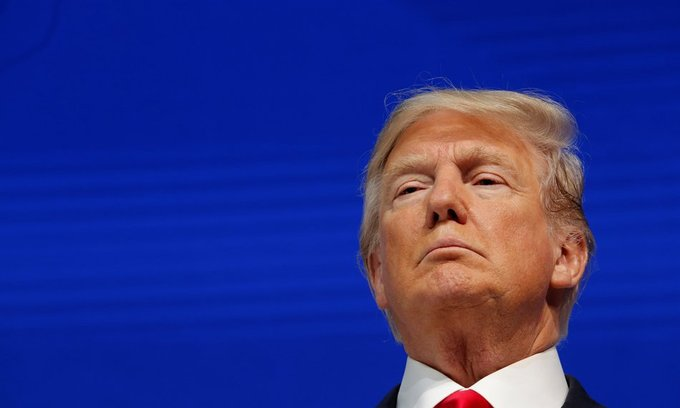 'I tweet from bed sometimes,' US President Trump says