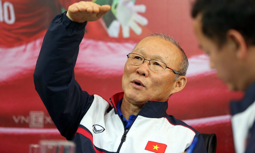 Q&A with coach Park Hang-seo, the mastermind behind Vietnam's U23 football success