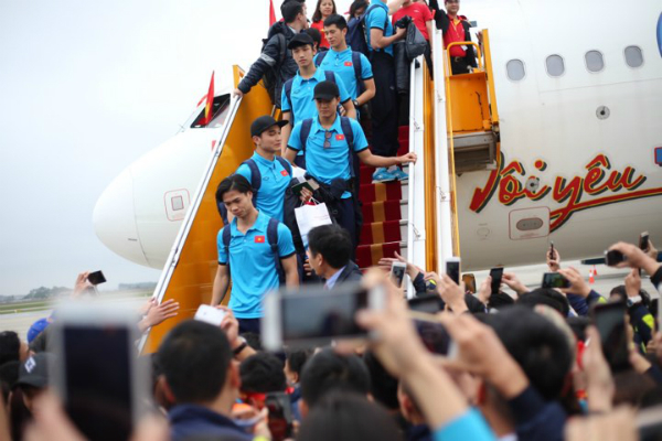 Vietnamese airline fined after U23 team treated to in-flight bikini show