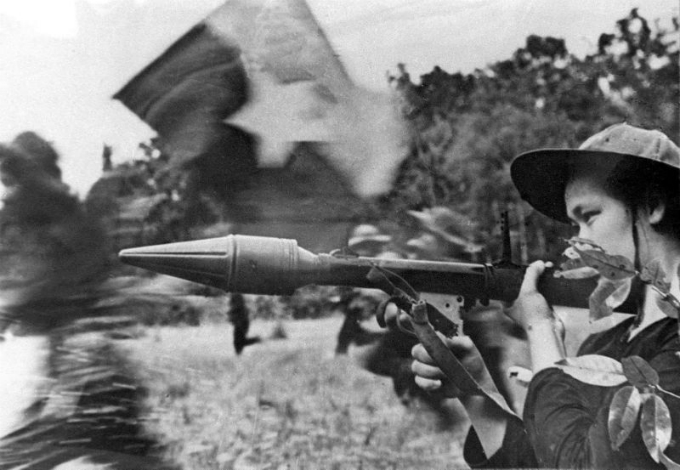The Tet Offensive in 1968 stuns the U.S.-backed South Vietnam regime, targeting more than 100 sites across southern Vietnam. Photo by AFP