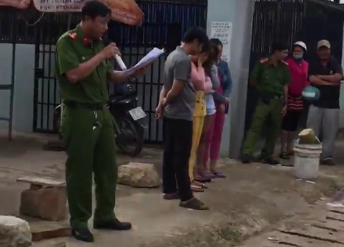 Vietnamese police spark outrage for publicly shaming sex workers