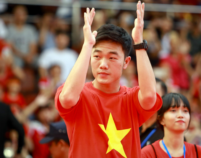 Luong Xuan Truong, the captain of the U23 team.