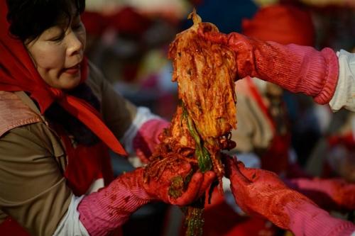 Korean Gim chi. Photo by AFP/Ed Jones