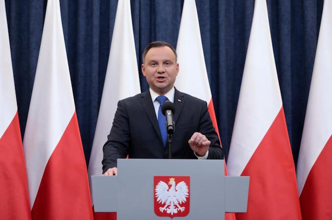USA  condemns Polish president's decision to sign Holocaust bill into law