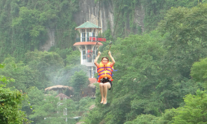 Vietnam set to build world's longest zip line in cave kingdom