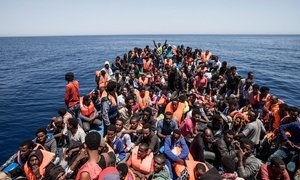 Human smugglers in Libya have links to security services: UN