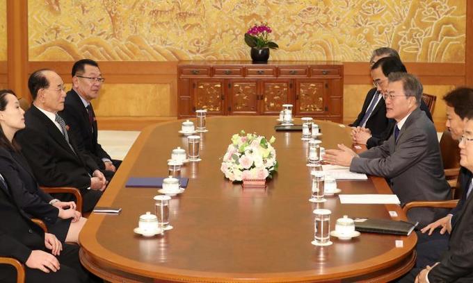 North Korea's Kim invites S Korean president for summit: S Korea