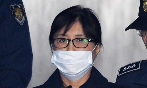 Secret confidante of S. Korea's Park jailed for 20 years over scandal