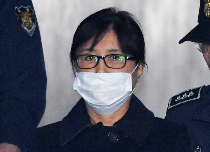 Secret confidante of S. Korea's Park jailed for 20 years over scandal