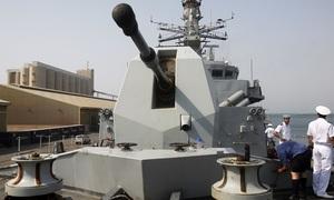 British warship to sail through disputed East Sea