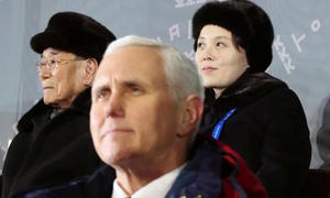 Pence raises prospect of talks with N. Korea while applying 'maximum pressure'