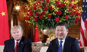 Trump threatens China sanctions, vows to rework South Korea trade deal
