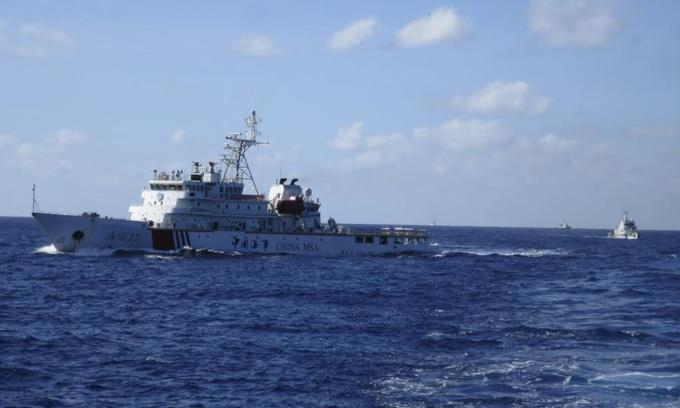 China building huge test site for unmanned ships in East Sea