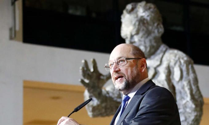 German SPD leader quits in bid to calm party after coalition deal with Merkel