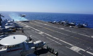 'US presence matters' says admiral on carrier in East Sea