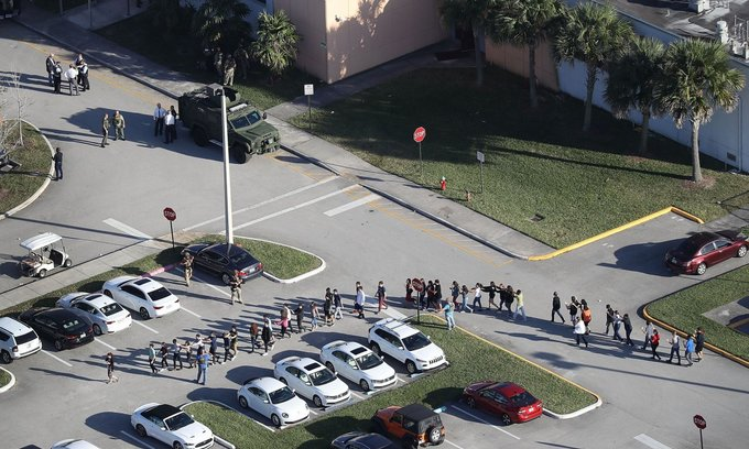 17 killed in Florida school shooting by former student: sheriff