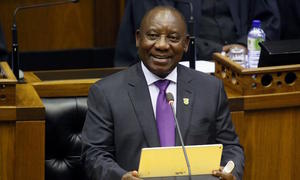 South Africa's Ramaphosa hails 'new dawn', warns of tough decisions