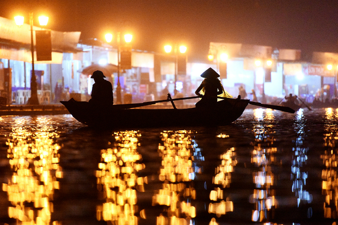 Boat riders almost work around the clock during this occasion.