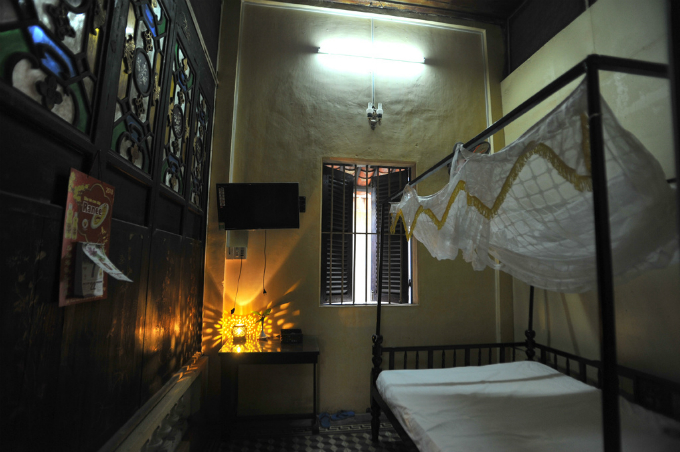 Visitors can also stay the night at the house in this room of the house at the cost of $22 per night.