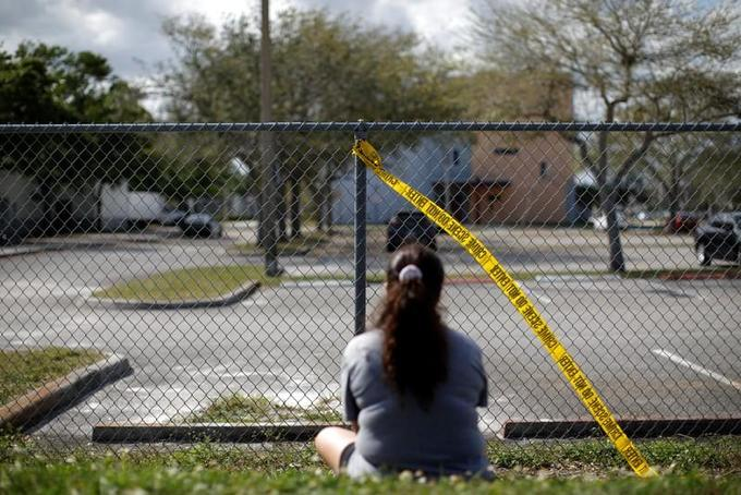 Armed deputy at Florida high school resigns after failing to engage shooter