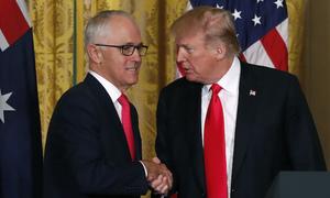 Trump, Australia's Turnbull seek common ground on trade, China