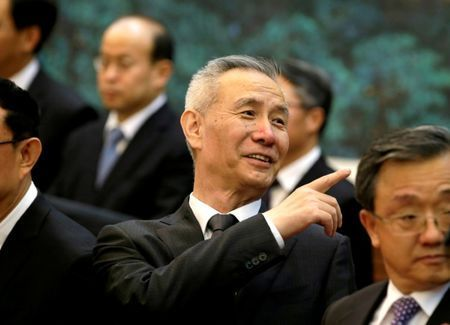 China leader's top economic adviser heads to US for trade talks