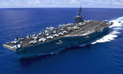 US aircraft carrier to make landmark visit to Vietnam in March