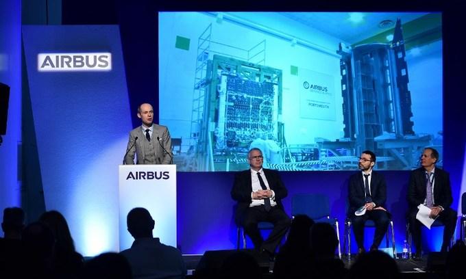 British astronaut hails 'groundbreaking' Airbus satellite