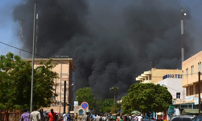 Dozens dead in attacks on Burkina military HQ, French embassy