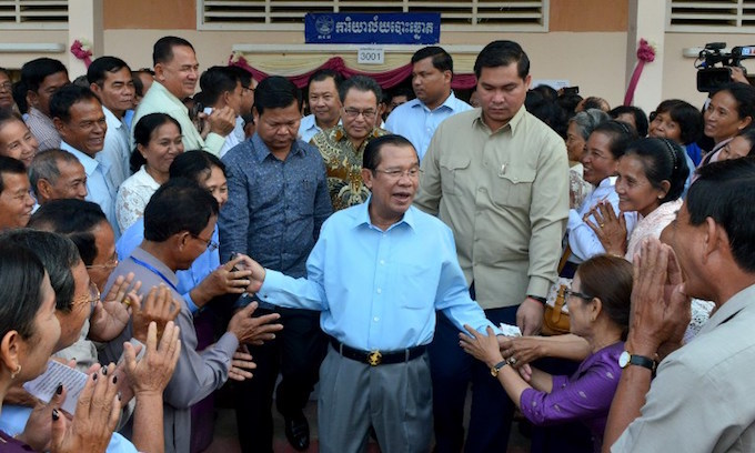 Cambodia PM accuses United States of lying over aid cut