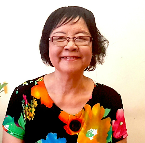 Vietnamese translator Tran Thi Minh Tam. Photo provided by herself.