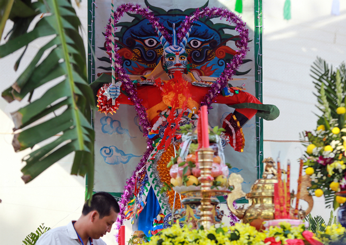 This festival is dedicated to this God, known as Tieu, who is believed to have the power to eliminate all demons and bad souls.