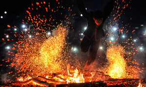 Fire-dancing tribe exorcise the demons in northern Vietnam